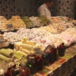 fancy piles of Turkish Delight